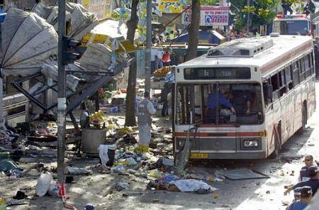 Sprängd buss