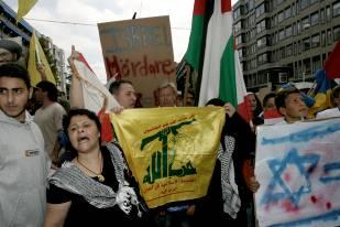 Pro-palestinska fascister i Stockholm