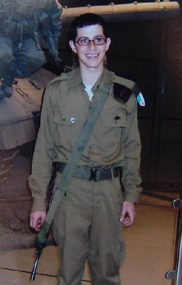 Idag är det 1000 dagar sedan Gilad Shalit kidnappades.