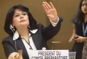 Ordföranden från Libyen stoppar rasismanklagelser mot Libyen