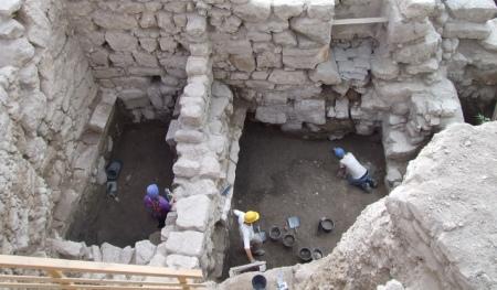 Utgrävningar i Kung Davids stad.